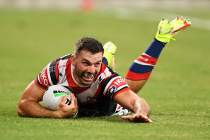 James Tedesco has been named Captain of the Year after leading the battered Roosters into the finals.