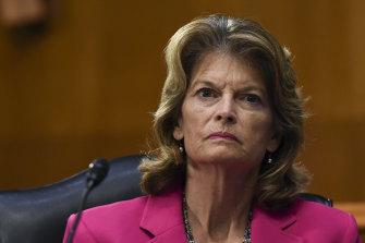 Alaskan senator Lisa Murkowski.