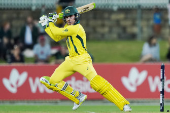 Harry Nielsen blasted 79 off 49 balls at Manuka Oval.
