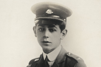 Baby faced John 'Jack' Harris' father signed a permission form allowing him to fight. He was 15, from Sydney. He was killed in action at Gallipoli.