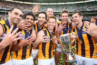 The final stage of the Hawthorn dynasty in 2015.