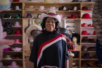 Representative Frederica Wilson (D-Fla.) in Worn Stories on Netflix.
