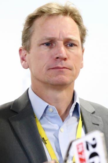 ABC's political editor Andrew Probyn.
