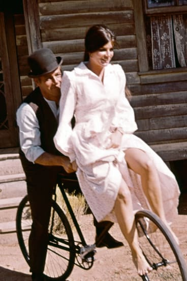 Butch Cassidy and the Sundance Kid (1969) with Paul Newman and, Katharine Ross
