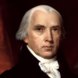 During the War of 1812, US President James Madison took on the greatest naval power in the world, Great Britain.