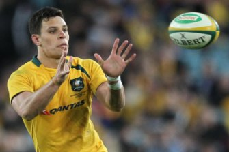 Happy camper: Matt Toomua has his eyes on a World Cup berth.