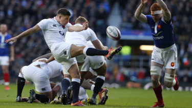 A finely-tuned kicking game has been a key part of England's Six Nations start.