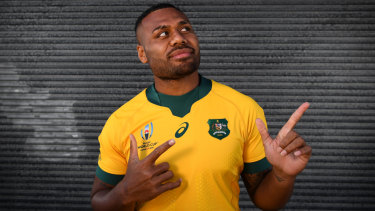 Samu Kerevi is set to play a starring role in Australia's World Cup campaign later this year.