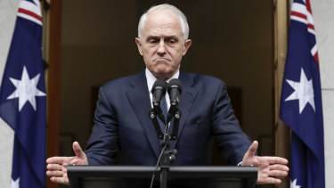Prime Minister Malcolm Turnbull lays out his conditions for a leadership challenge on Thursday.