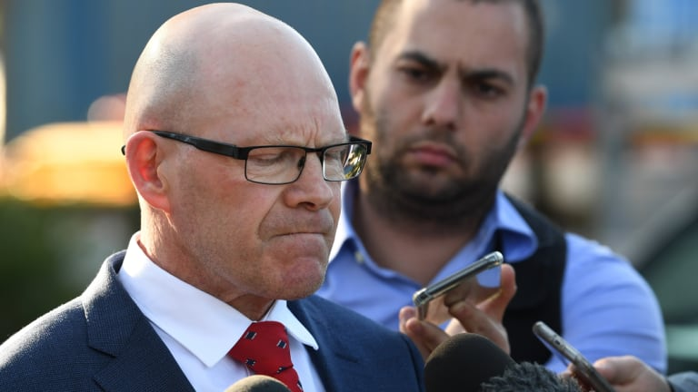 Sharks CEO Barry Russell has maintained the club's backing for Flanagan.