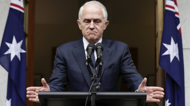 Malcolm Turnbull ascended by aggression and cannot reasonably play the victim.