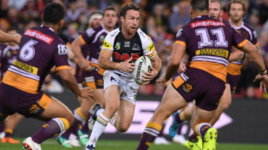 Hurting: James Maloney has been playing through several injuries.