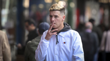 Bourke Street Mall is expected to become a no-go zone for smokers.