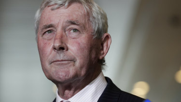 Canberra lawyer Bernard Collaery.