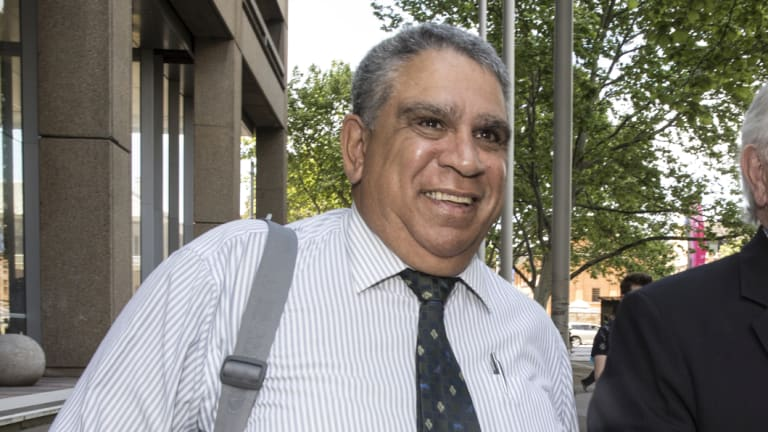 Guardian Youth Care chief executive and former Wallaby Glen Ella outside the Federal Court this week.
