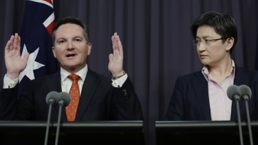 Chris Bowen has announced a Labor government will increase foreign aid by $1.2 billion, after he and foreign affairs spokeswoman Penny Wong have been promising an increase.