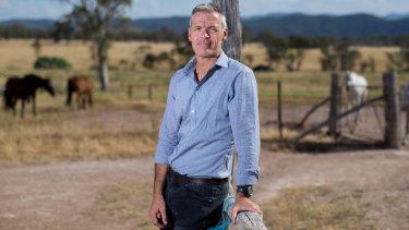 Farmers leader Tony Mahar.
