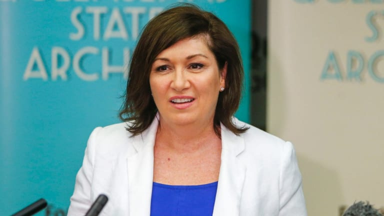 Innovation Minister Leeanne Enoch said Mr Baxter would bring 'razzle dazzle' to the job.