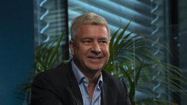 Scentre Group chief Peter Allen.