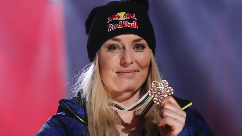 Skiing great Lindsey Vonn caps sparkling career with bronze ce1abd3d4f1