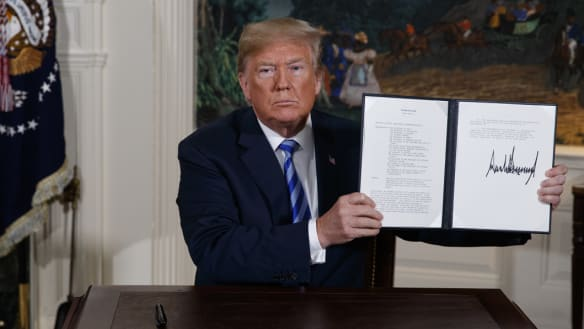 Key negotiators behind Obama's Iran nuclear deal say Morrison government should not follow Trump