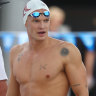 Cody Simpson, followed by millions, has been starstruck at the Australian swimming championships