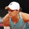 Ash Barty pulled out of Roland-Garros in the second round due to a hip injury.