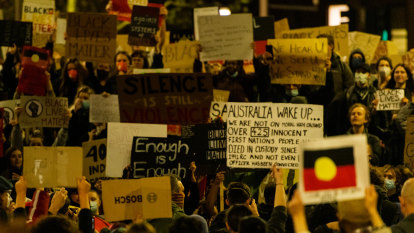 When I look at America torn apart, I see my own family and Australia's history of racism