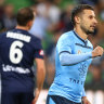 Sydney FC outclass Victory in 3-0 Big Blue triumph