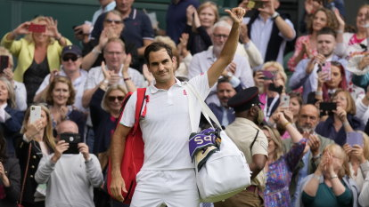 Eight-time Wimbledon champ Federer loses to Hurkacz in quarter-finals