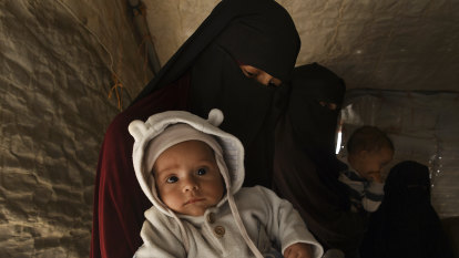 A new Australian baby born in squalor in a Syrian detention camp