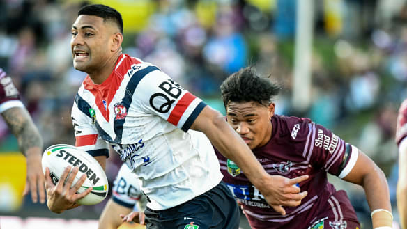 Roosters hammer Manly in 10-try blitz to puts rivals on notice