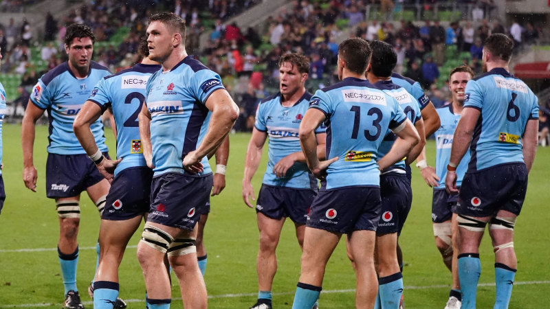 Crisis comes early for Waratahs after Penney handed a broken side