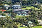 Aerial photo of Lindsay Fox property at Portsea.