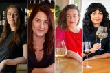 """Women and Revolution members (from left): Bridget Raffal, who felt lonely at trade events that were predominantly attended by men; freelance wine buyer  Jacqueline Turner; newcomer Saranya Kundasamy; Ella Stening, who says she is """"happy"""" at the push for change."""