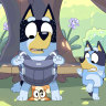 It would be unwise to let down Bluey's Dad, Bandit.