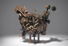 No. 199 Metal construction 1965 by Robert Klippel.