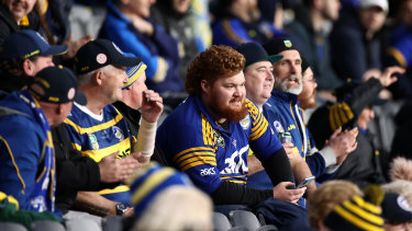 Parramatta says crowd restrictions at Bankwest Stadium are costing the club nearly $600,000 a game.