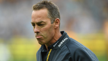 Submissive: Alastair Clarkson said Hawthorn 'deserved to be beaten' by the Dogs.