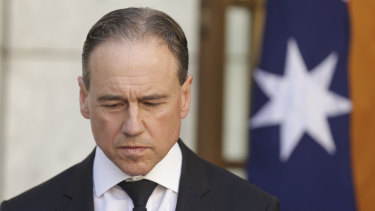 Health Minister Greg Hunt will not say when the government will release the Productivity Commission report on mental health.
