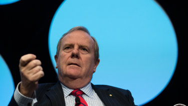 Peter Costello says he recession that is expected to be confirmed at 11.30am this morning is well beyond the federal government's control.