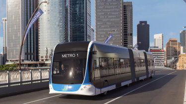 Brisbane Metro vehicles are expected to come in at a cost of about $3.16 million each, according to the latest council figures.