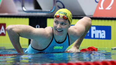 Cate Campbell has finished atop the women's World Cup standings.