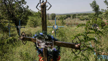 Two of the last three people living in Dobrusa were murdered in February 2019.