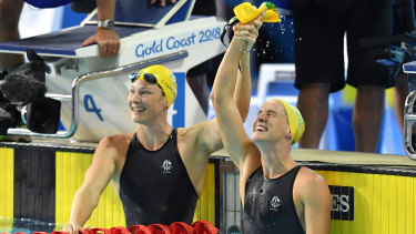 Cate and Bronte Campbell will be in full flight in Korea but none of their exploits will be on Australian TV.