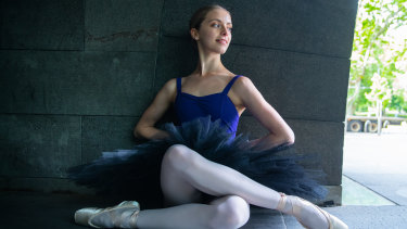 Australian Ballet School student Maidie Widmer.