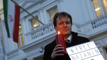 Richard Ratcliffe is still campaigning for the release of his wife Nazanin Zaghari-Ratcliffe.