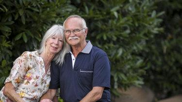 Ann and Tony Hughes.