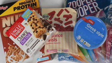Nutri-Grain could lose stars and yoghurts gain more under the proposed changes.