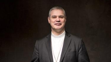 Melbourne's new Archbishop Peter Comensoli.